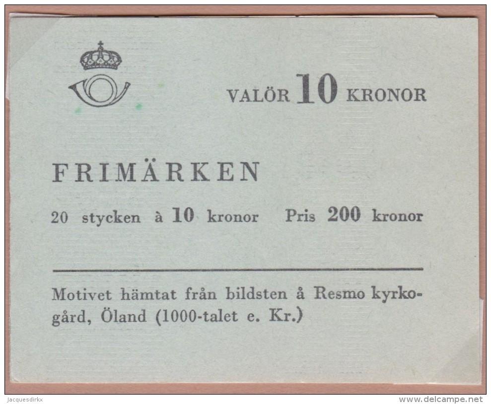 Sweden    .      Facit   .    H  143      ( 2 Scans )   Complete  .       **   .    MNH    .   /   .  Postfris - 1951-80