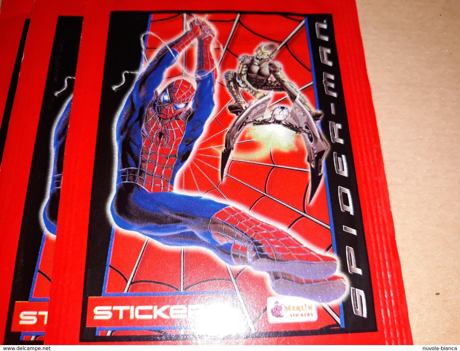 Spider-man Bustina Con Figurine.merlin - Adesivi