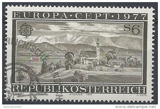 1977 AUSTRIA USATO EUROPA - Europa-CEPT