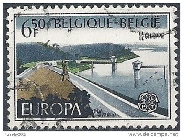 1977 BELGIO USATO EUROPA 6,50 F - 1977