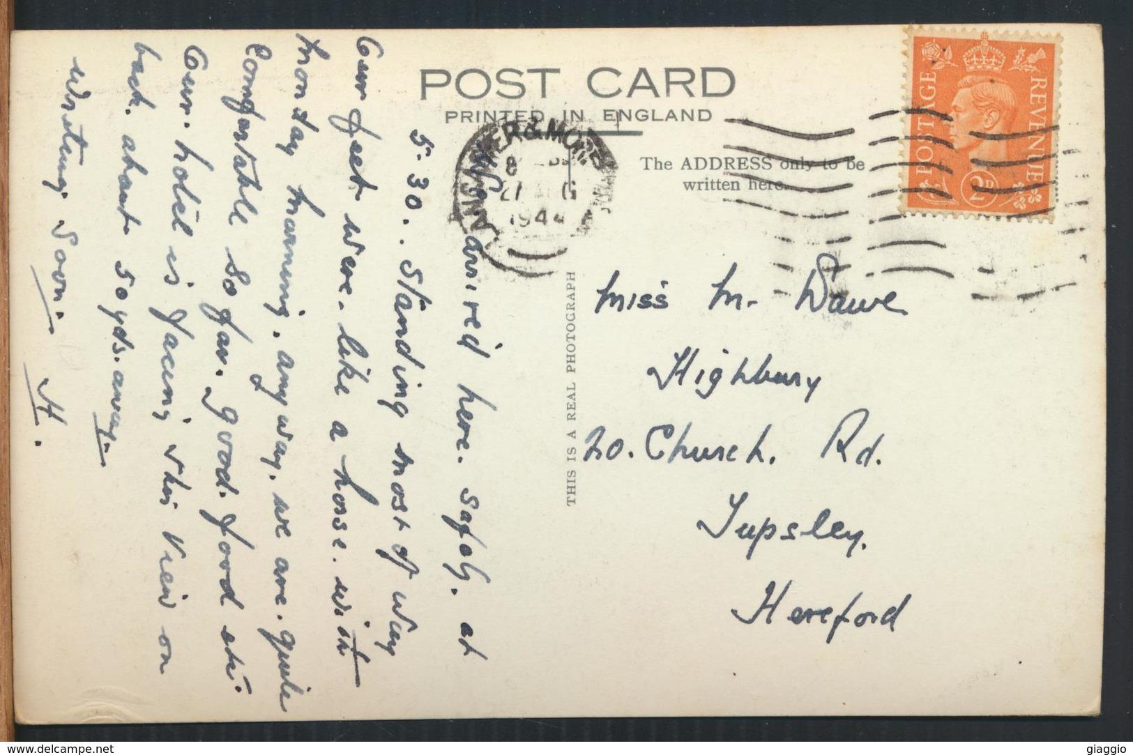 °°° 11931 - UK - ENTRANCE LANCASTER CASTLE - 1944 With Stamps °°° - Altri