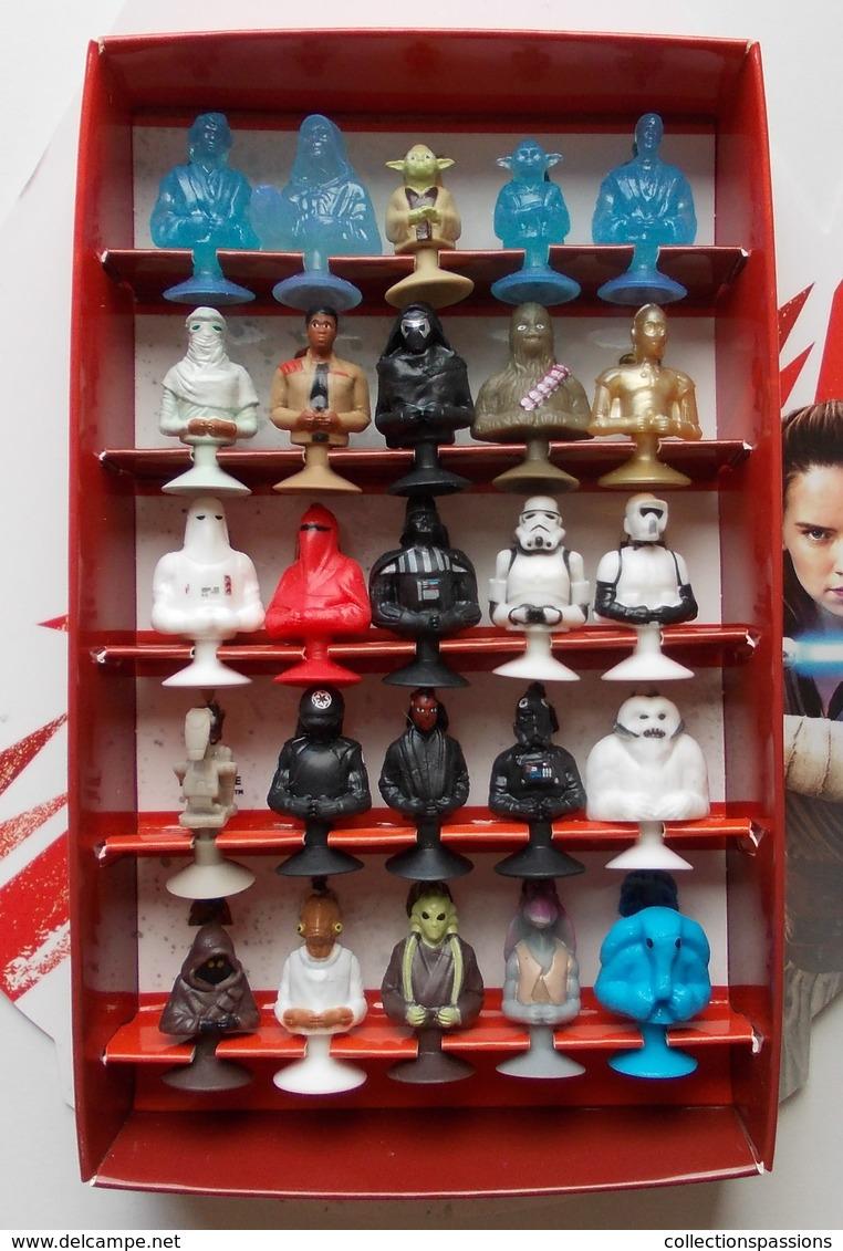 - STAR WARS - VAISSEAU FAUCON MILLENIUM - Complet Avec Les 25 Micro Popz - Micro Popz. Disney - - Power Of The Force