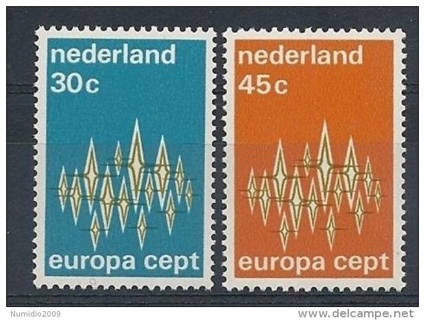 1972 EUROPA OLANDA MNH ** - EU048 - Europa-CEPT
