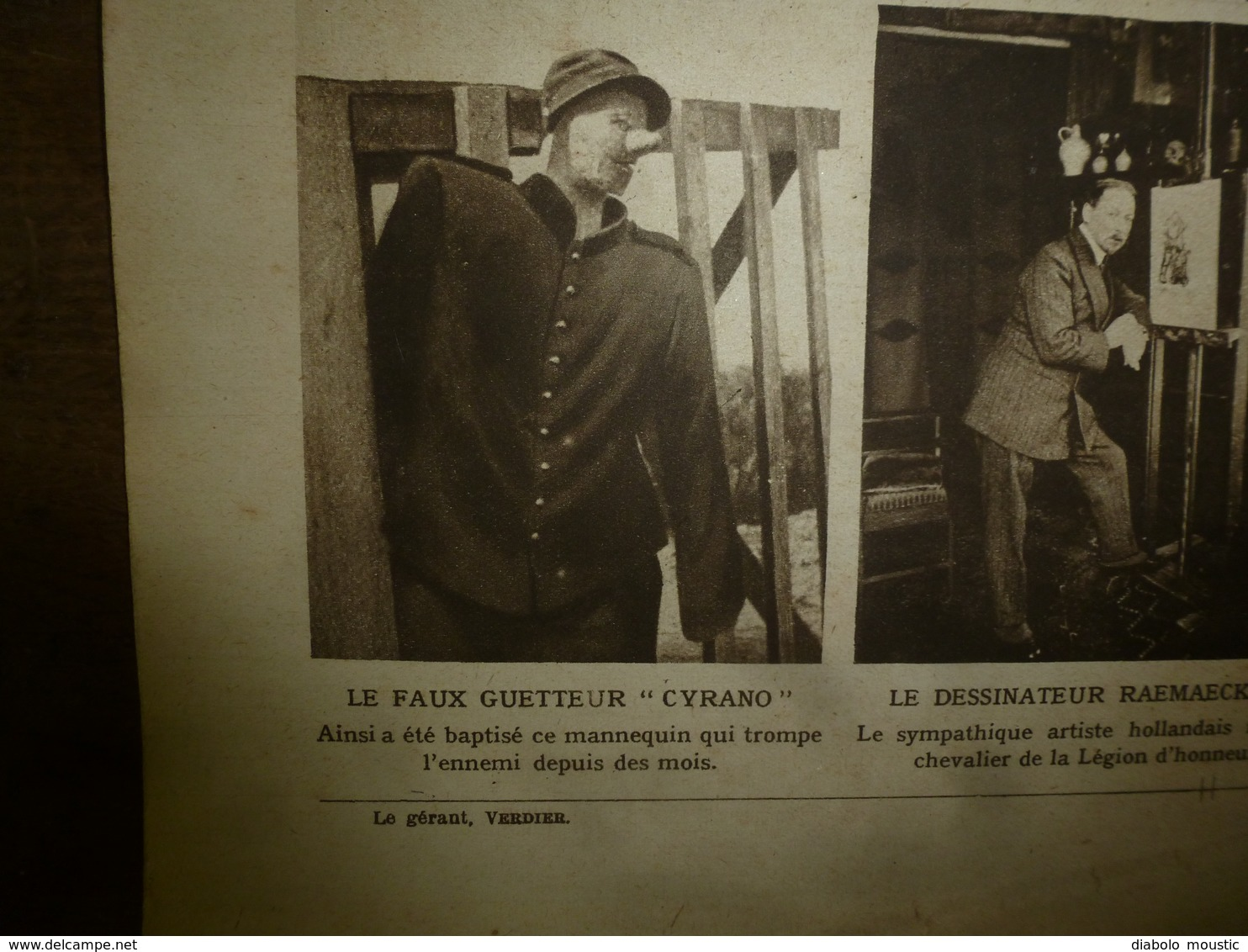 1916 LE MIROIR: Le Chien-mascotte Fume La Pipe;Prisonniers Hameln;Ypres;Aviateurs Fr Internés à Hospenthal,Andermat;etc - Riviste & Giornali