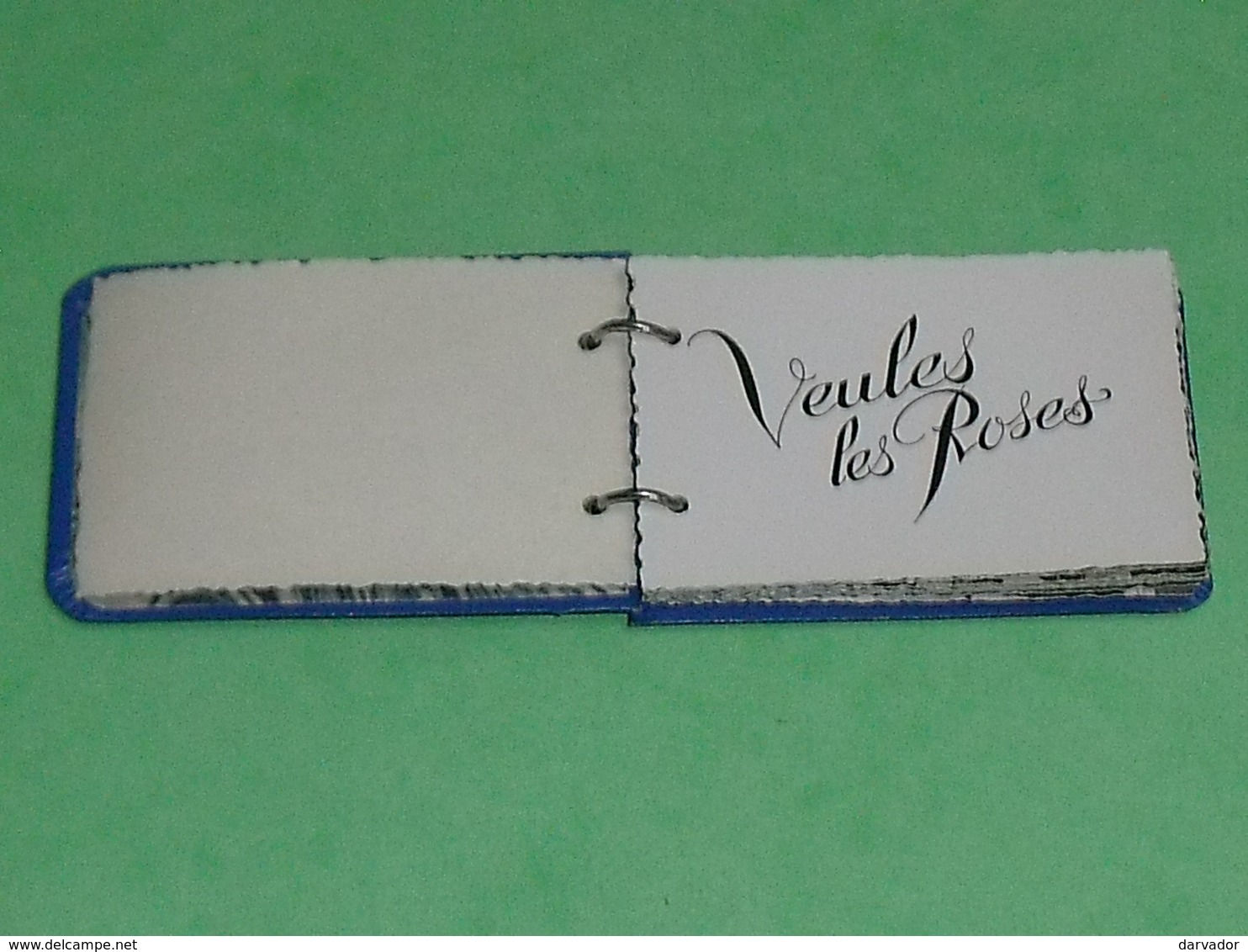 Carte Postale : Petit Carnet 75 X 50 Mm De Veules Les Roses TTB - Veules Les Roses