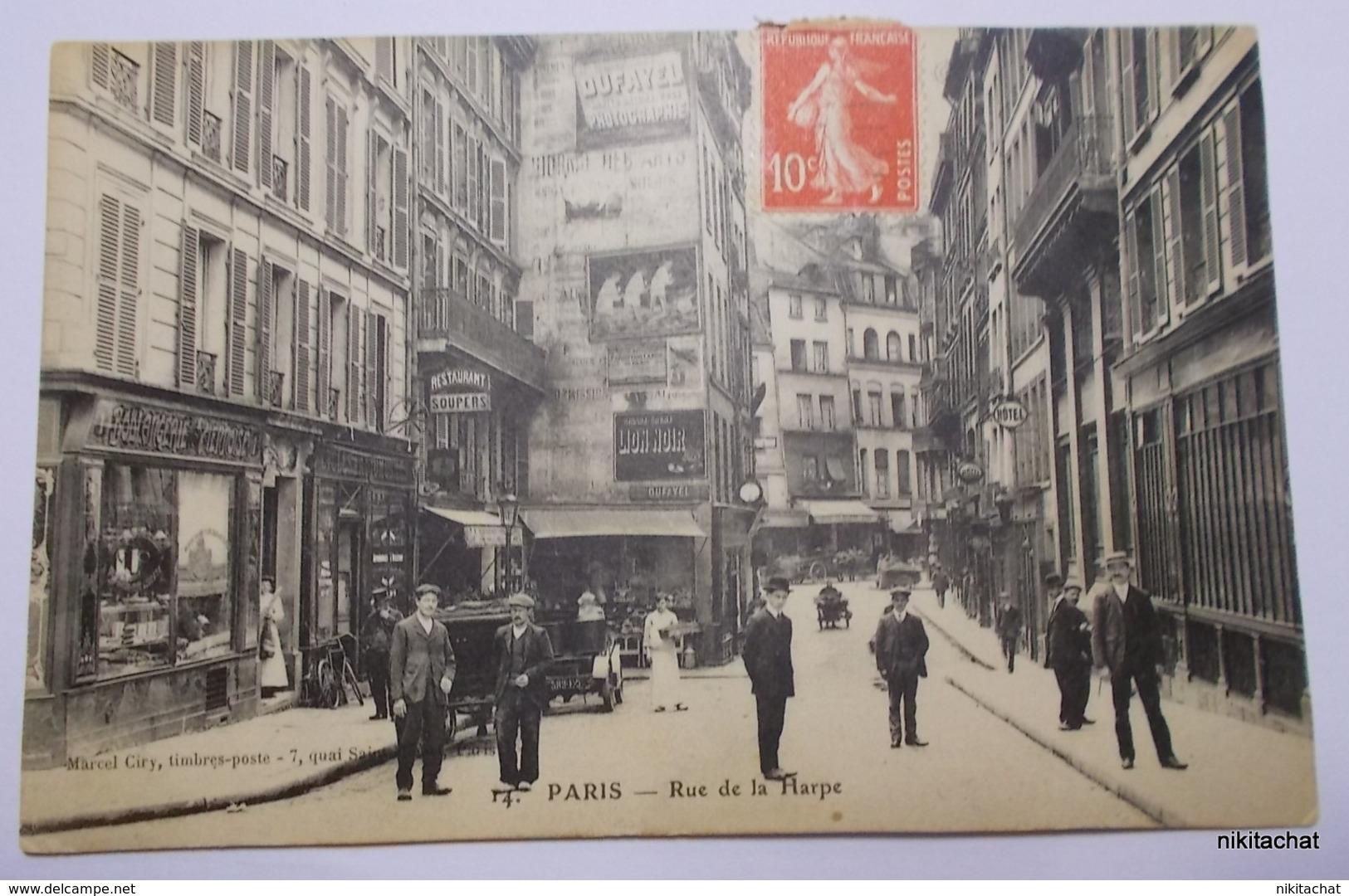 PARIS-Rue De La Harpe - Arrondissement: 05