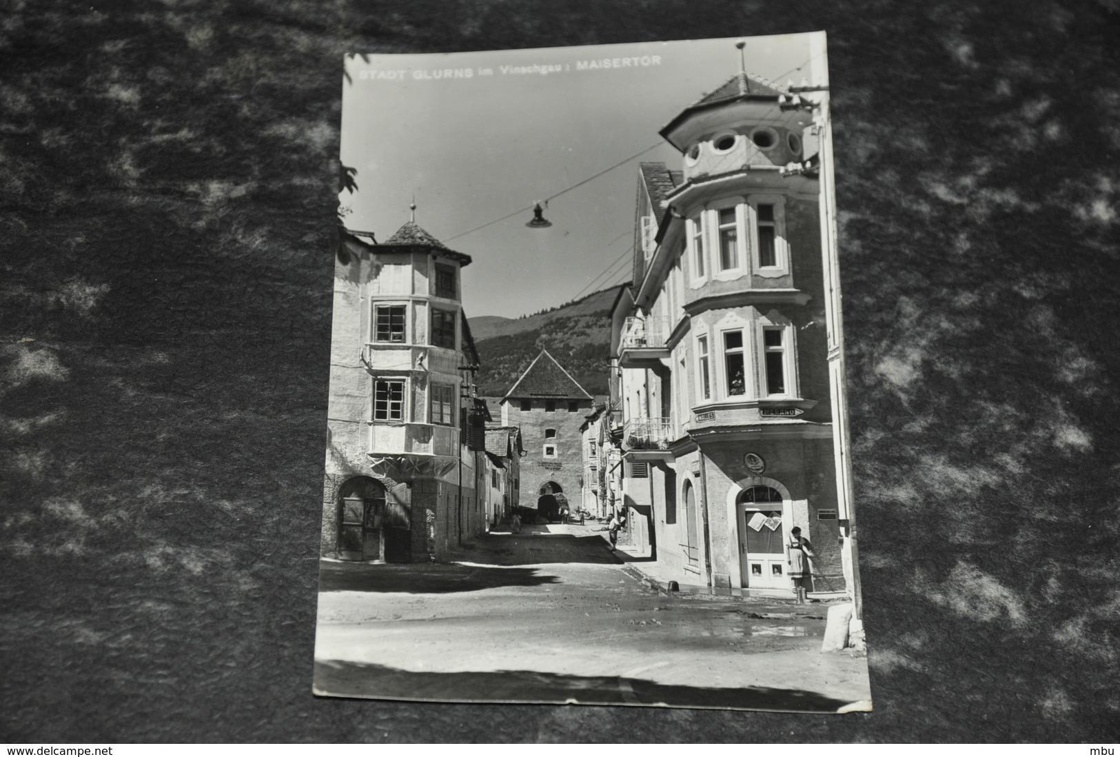 3029  Citta Di Glorenzo    Glurns, Val Di Venosta, Vinschgau - 1958 - Bolzano (Bozen)
