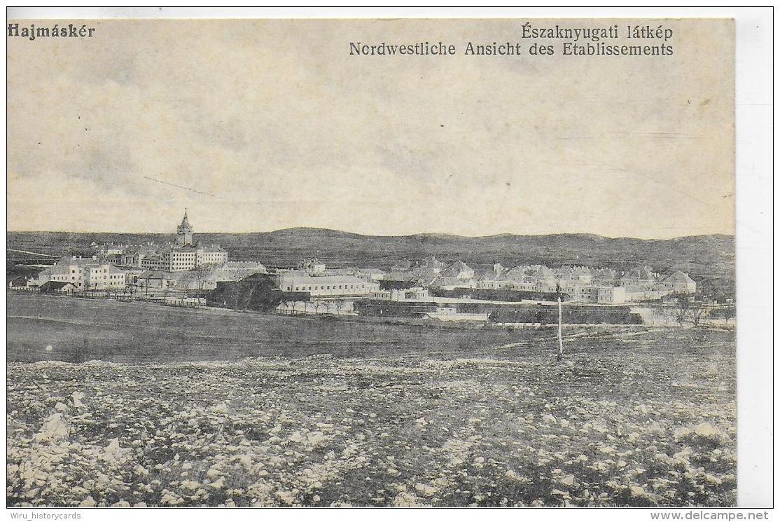 AK 0025  Eszaknyugati Látkép - Nordwestliche Ansicht Des Etablissements Um 1917 - Ungarn