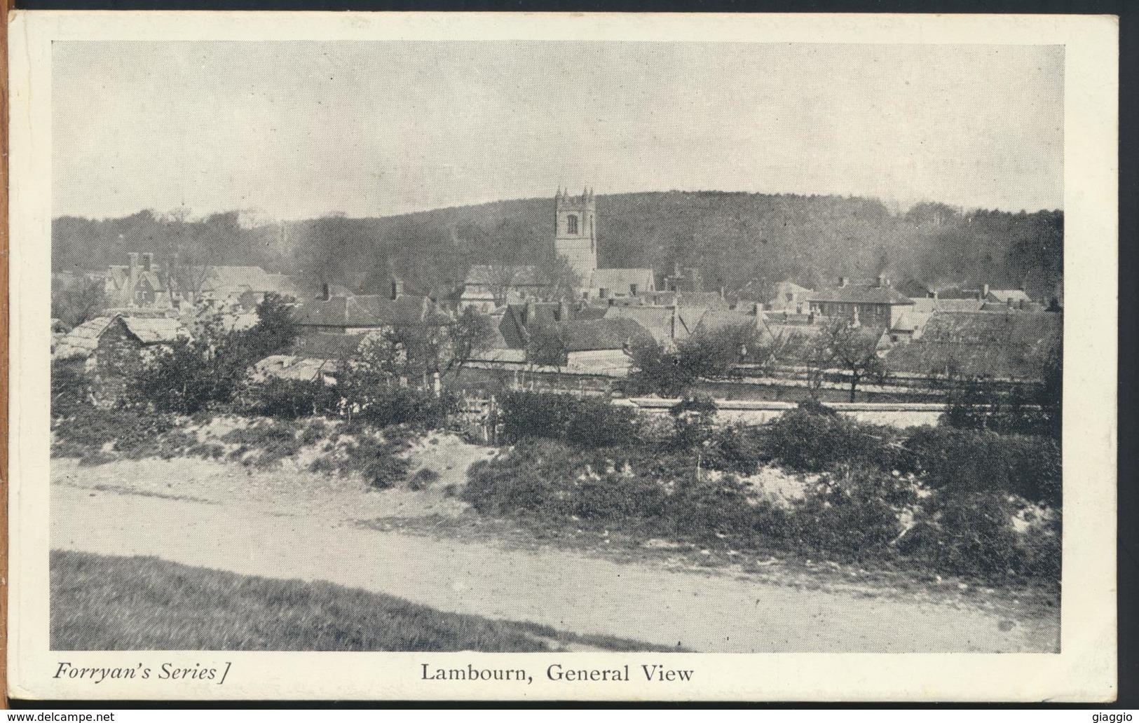 °°° 12044 - UK - LAMBOURN , GENERAL VIEW °°° - Inghilterra