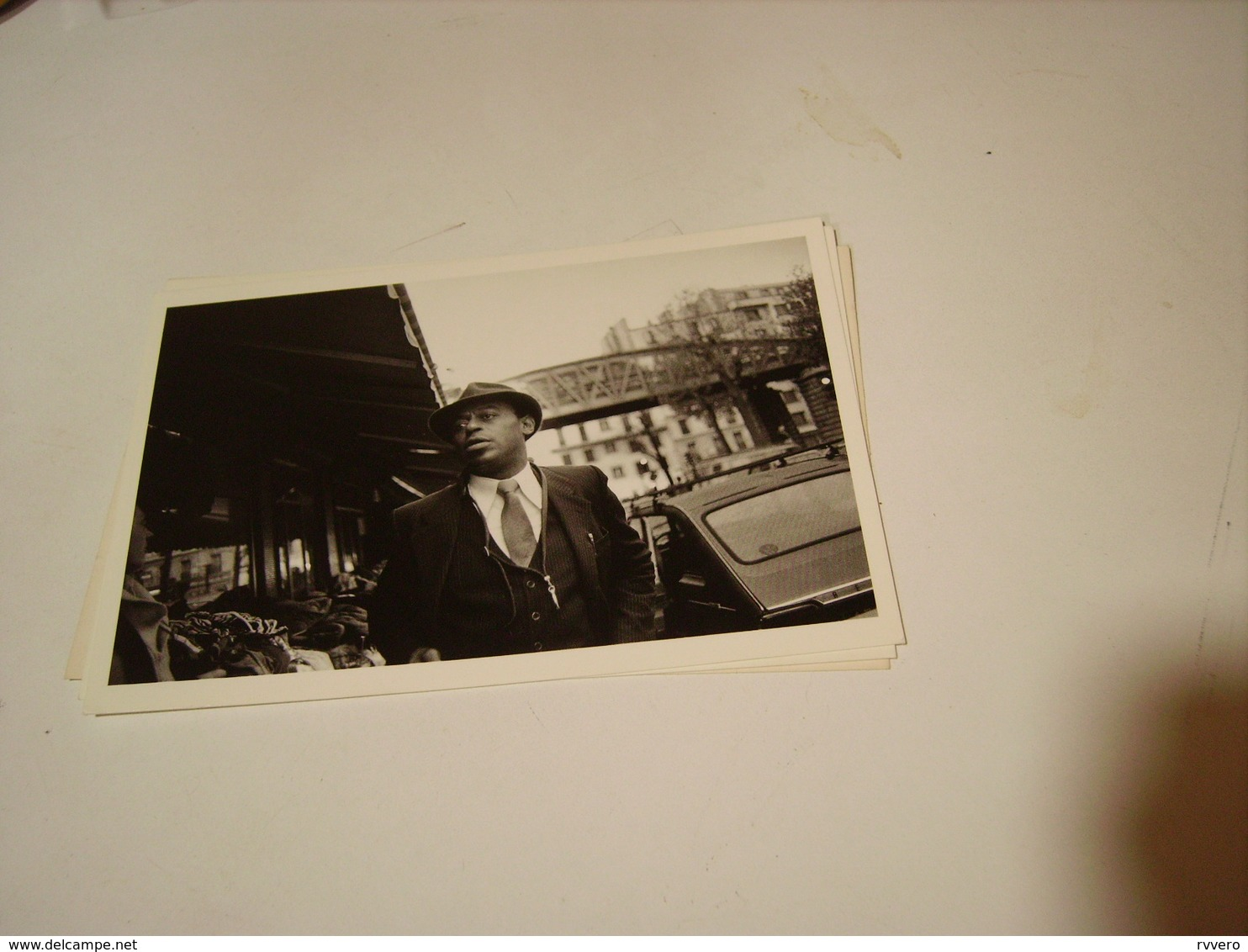 ARCHIE SHERP  PHOTO DE GUY LE QUERREC 1983 - Photos