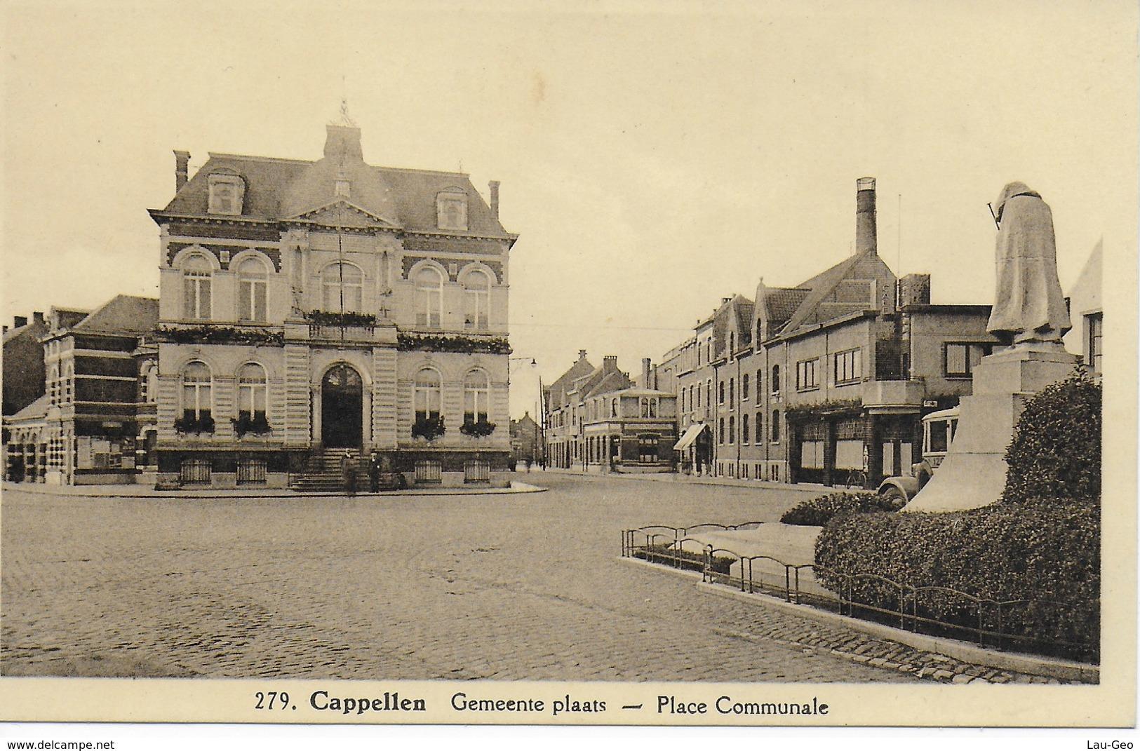 Cappellen. Gemeente Plaats - Place Communale - Kapellen