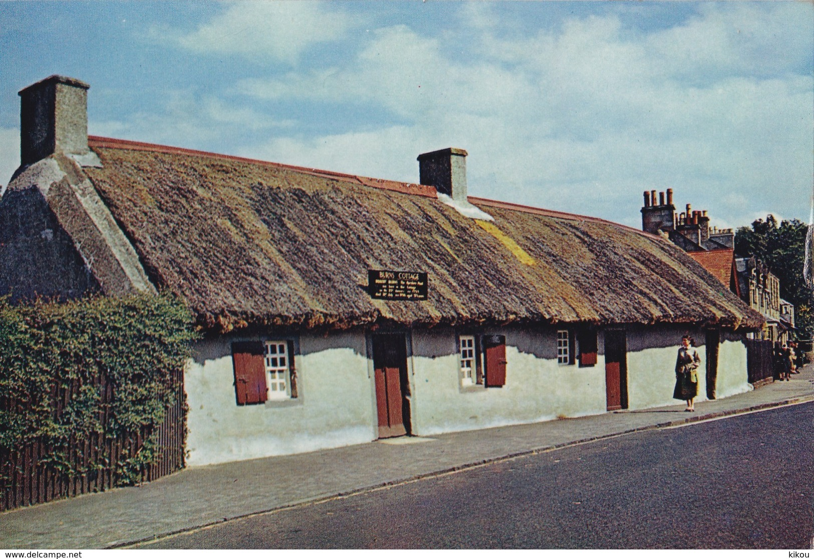 ALLOWAY - Lieu De Naissance Du Poète Ecossais Robert Burns Et Musée Scotland's National Bard (Burn's Cottage) - - Ayrshire