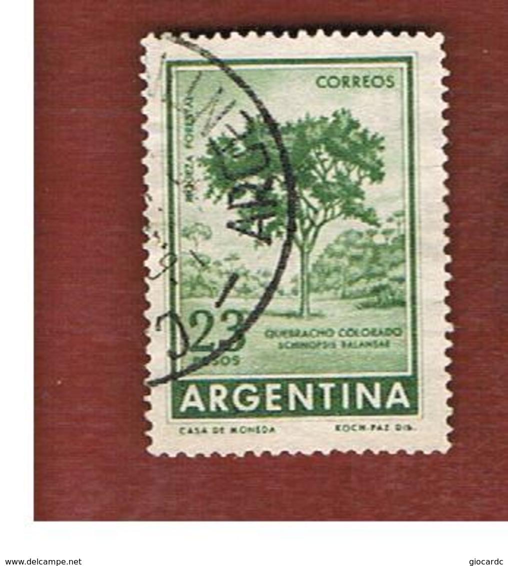 ARGENTINA - SG 1019  - 1959 RED QUEBRACO TREE        -   USED ° - Argentina