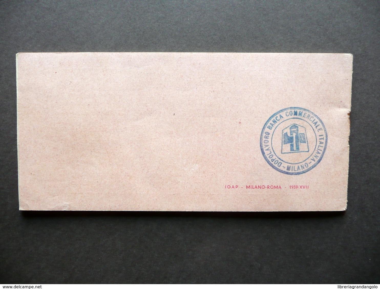 Libretto Mostra Di Leonardo Da Vinci E Invenzioni Italiane Milano 1939 Riduzioni - Documentos Antiguos
