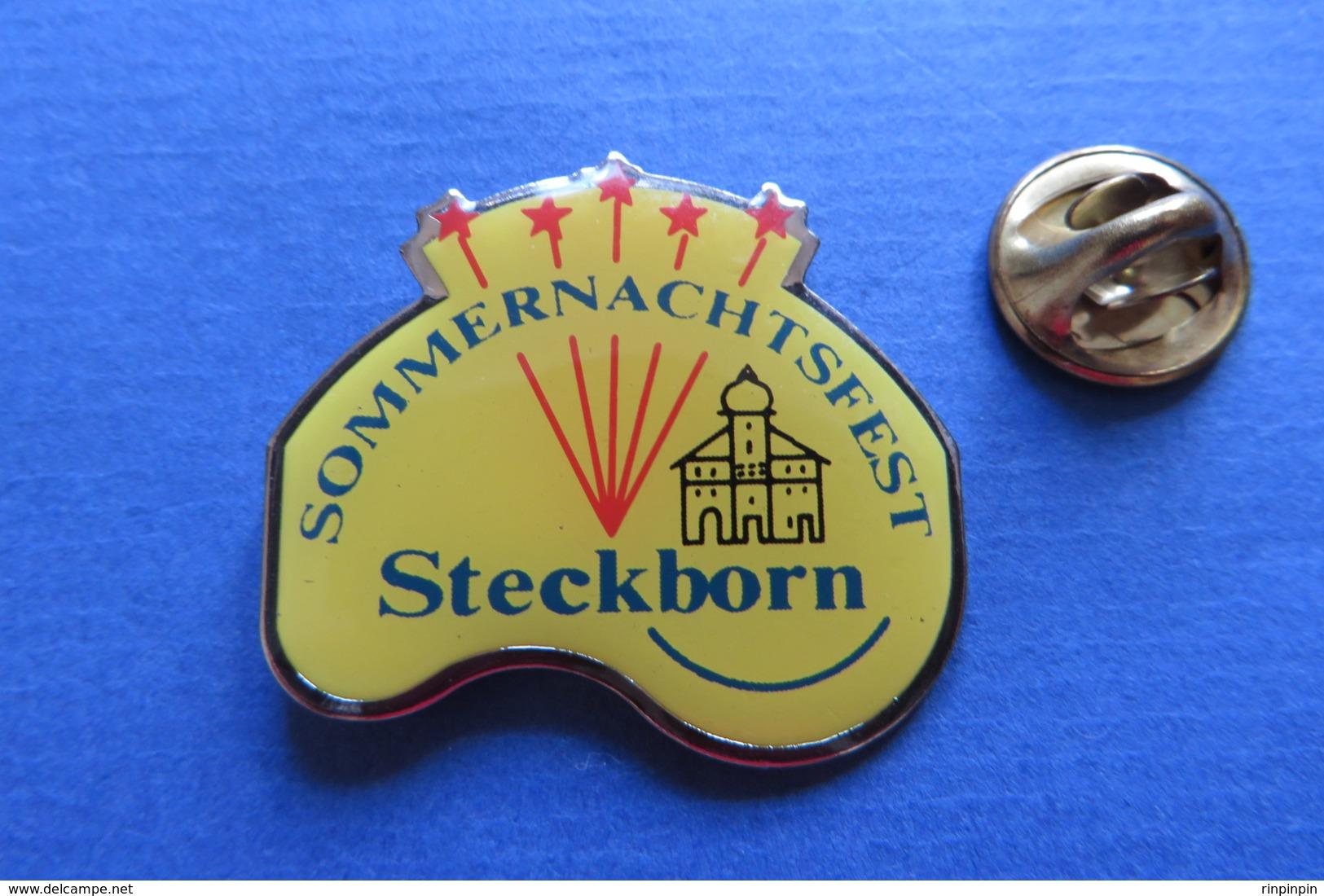 Pin's,feux D'artifice, SOMMERNACHTSFEST, STECKBORN, Suisse - Villes