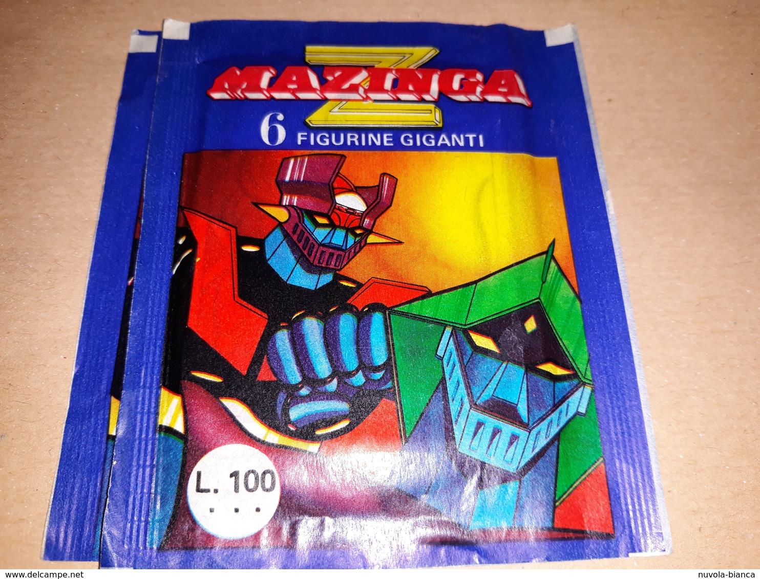 Z Manzinga  Bustina Chiusa Con Figurine 1980 - Stickers
