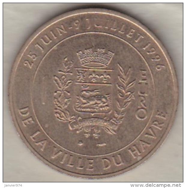 1 Euro De La Ville Du Havre. Pont De Normandie 1996 - Euros Of The Cities