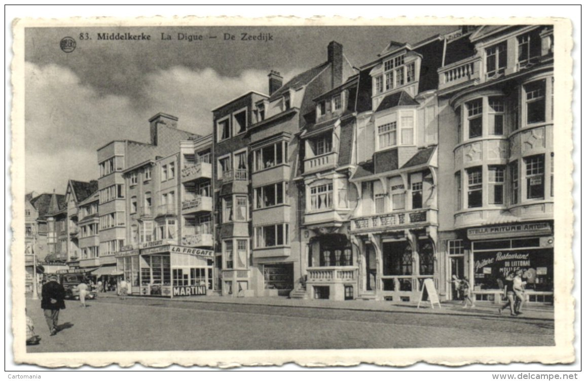 Middelkerke - De Zeedijk - Middelkerke