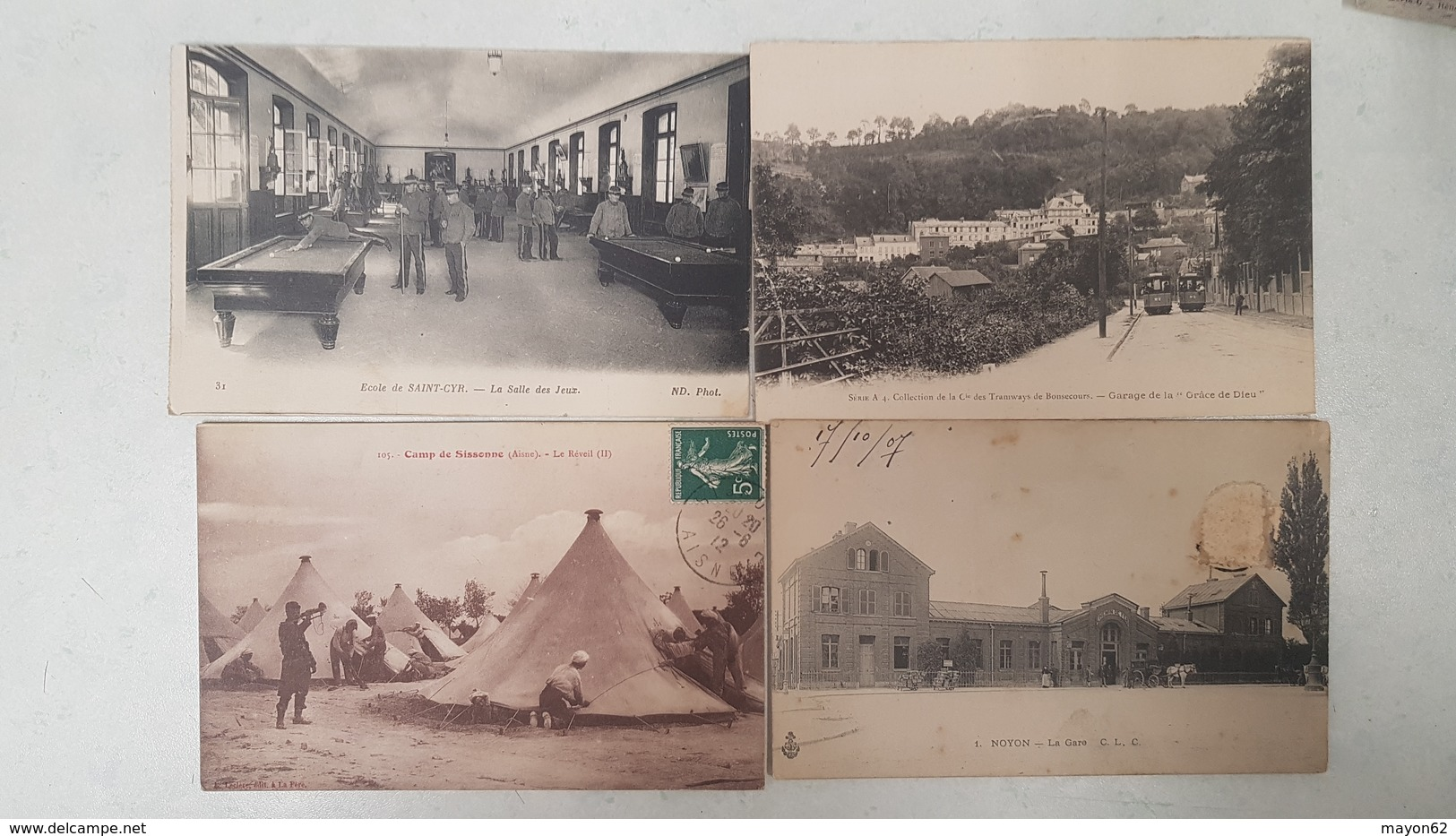 EXCEPTIONNEL LOT 230 CARTES POSTALES ANCIENNES - TOUTES SCANNEES - DEPART 1 EURO - TOP REVENDEUR - Postcards