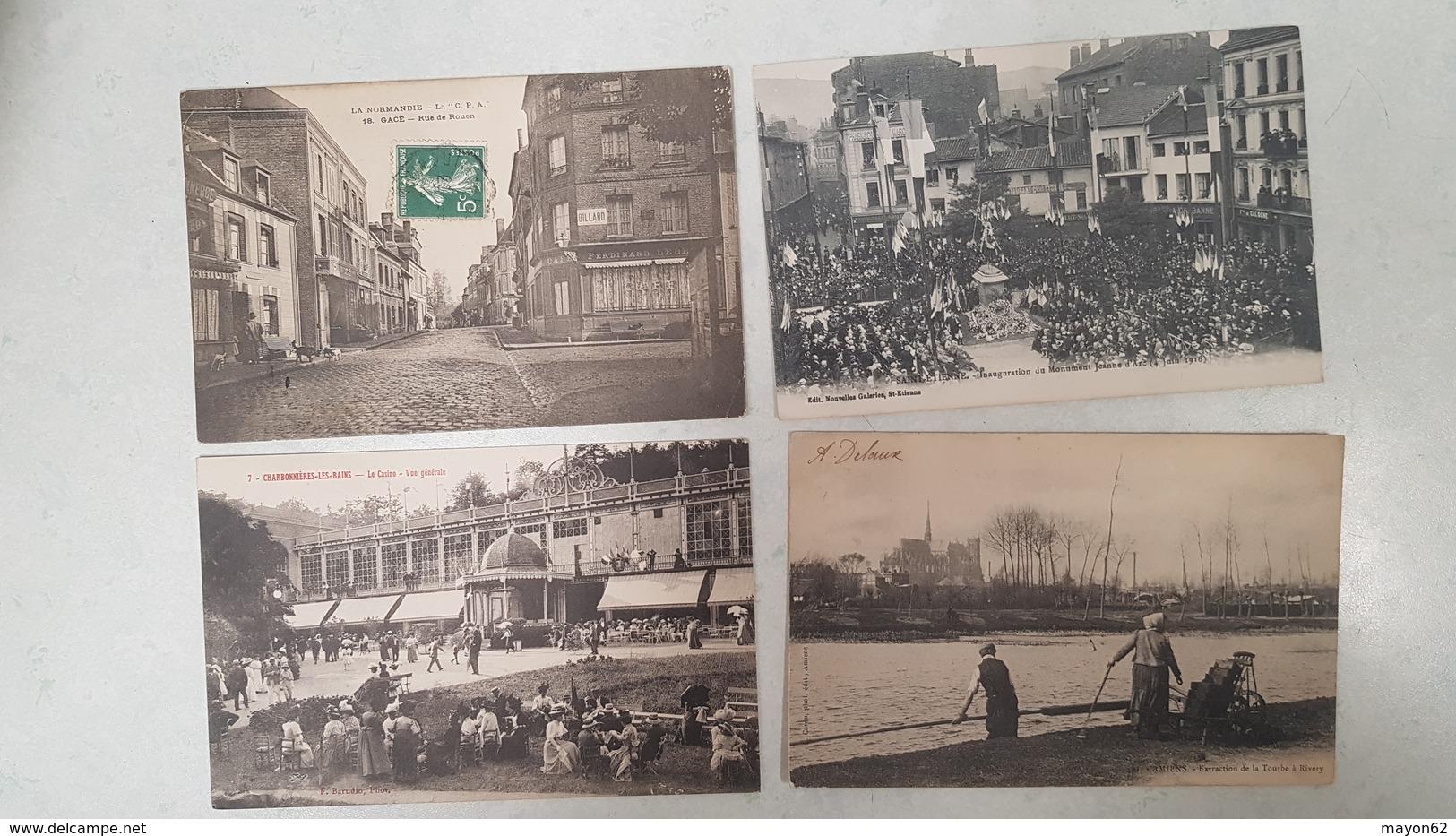 EXCEPTIONNEL LOT 230 CARTES POSTALES ANCIENNES - TOUTES SCANNEES - DEPART 1 EURO - TOP REVENDEUR - Cartes Postales