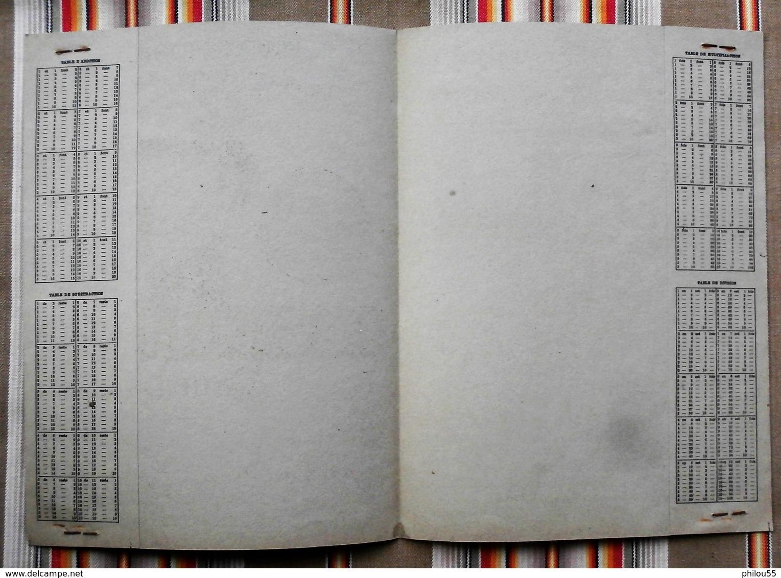 Ancien Protege Cahier D'Ecole PUBLICITAIRE GOULET TURPIN 51 REIMS Pas Courant - Book Covers