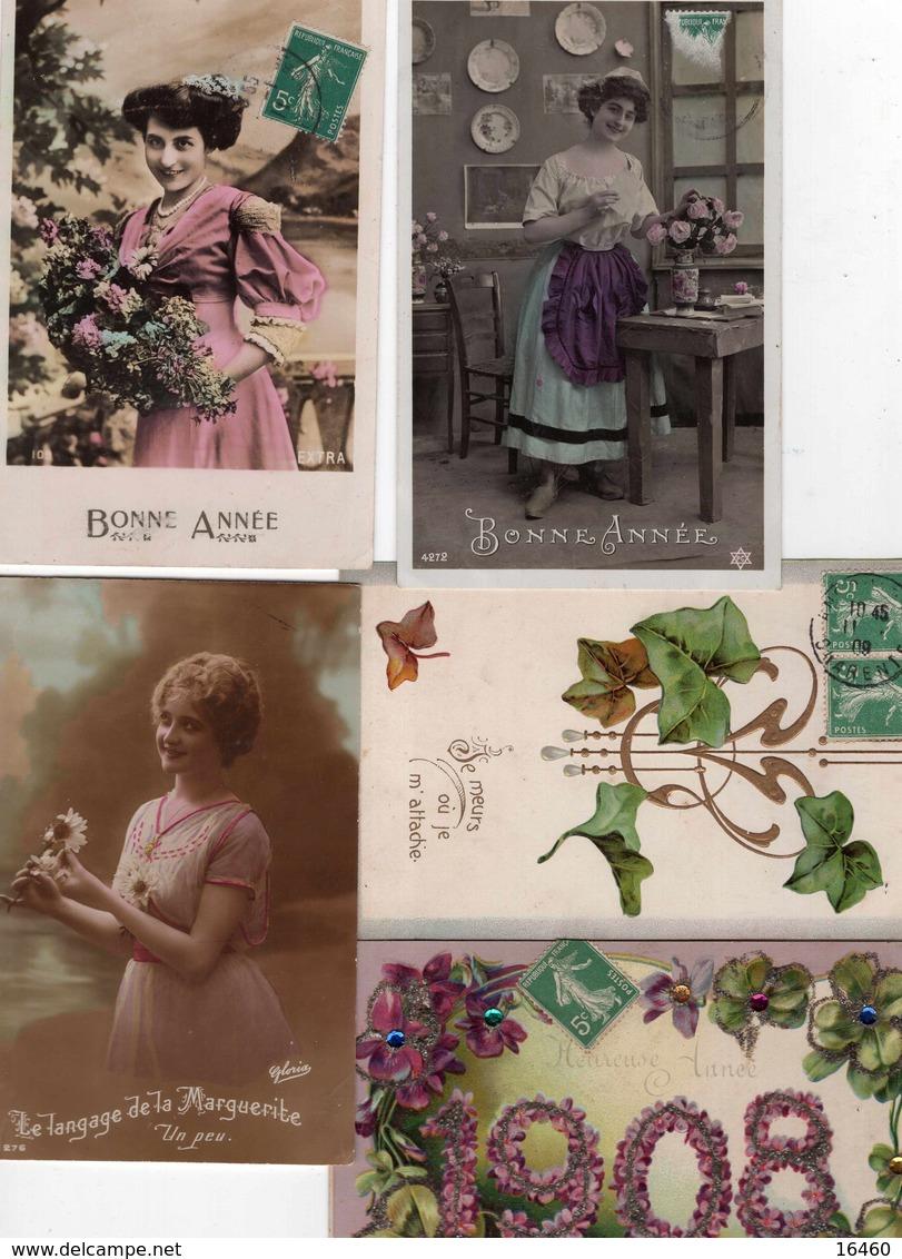 LOT DE 650 CARTES POSTALES FANTAISIE - Postcards