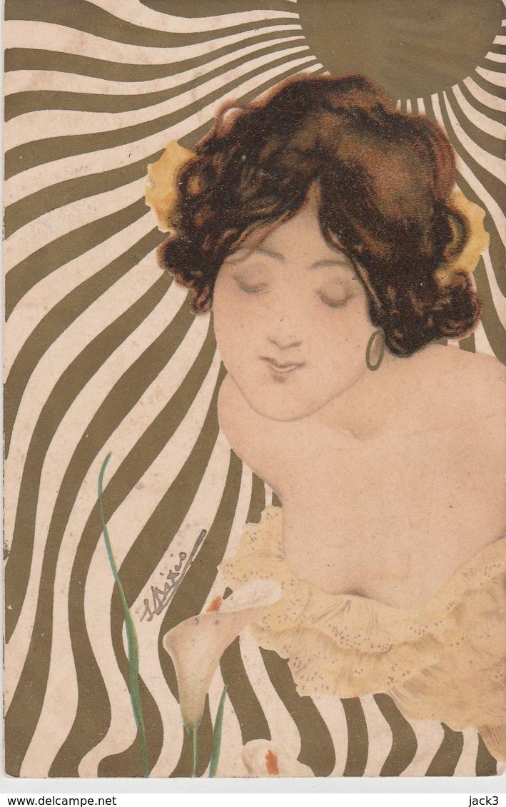 Cartolina - Raphael Kirchner - Donna - Kirchner, Raphael