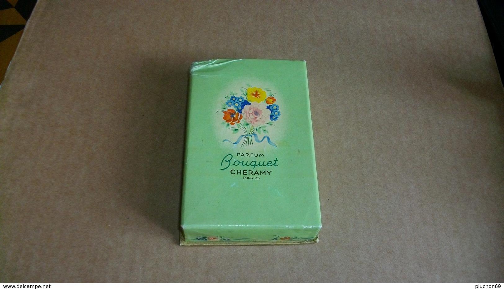 "Miniature Cheramy  "" Bouquet  "" Parfum - Miniatures Anciennes (jusque 1960)"