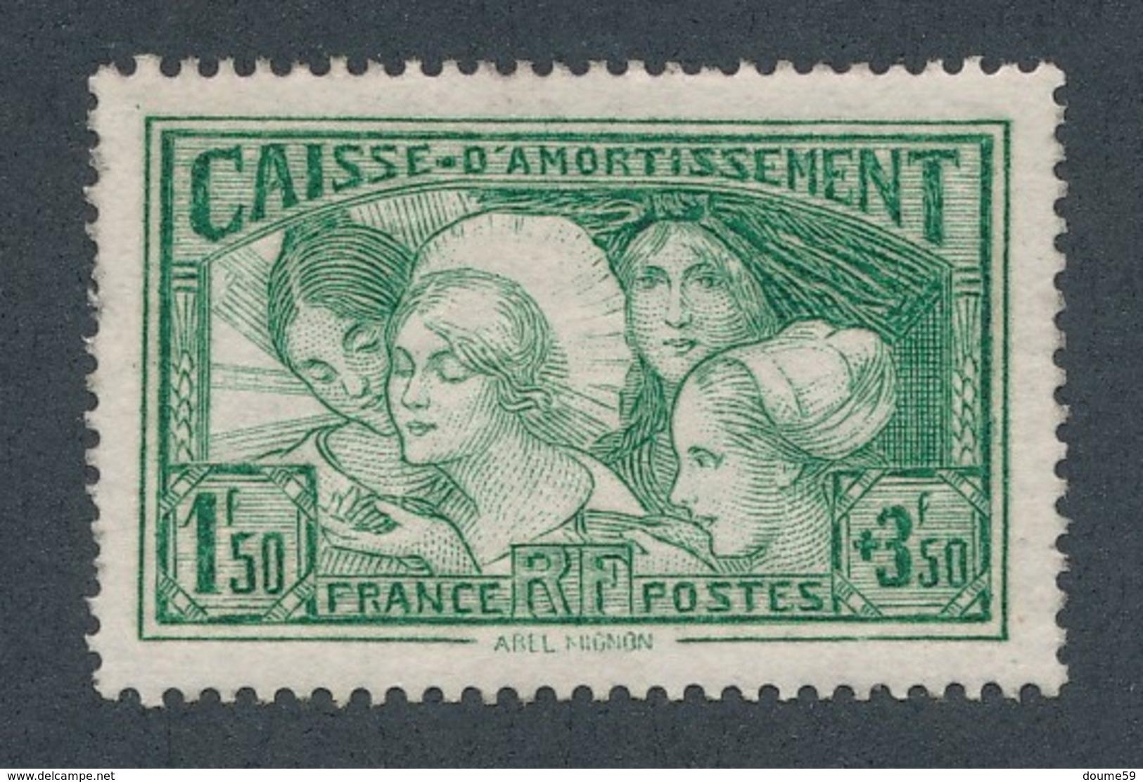 """CF-46: FRANCE: Lot  """"CAISSE D'AMORTISSEMENT"""" Avec N°269*GNO 2ème Choix - Neufs"""