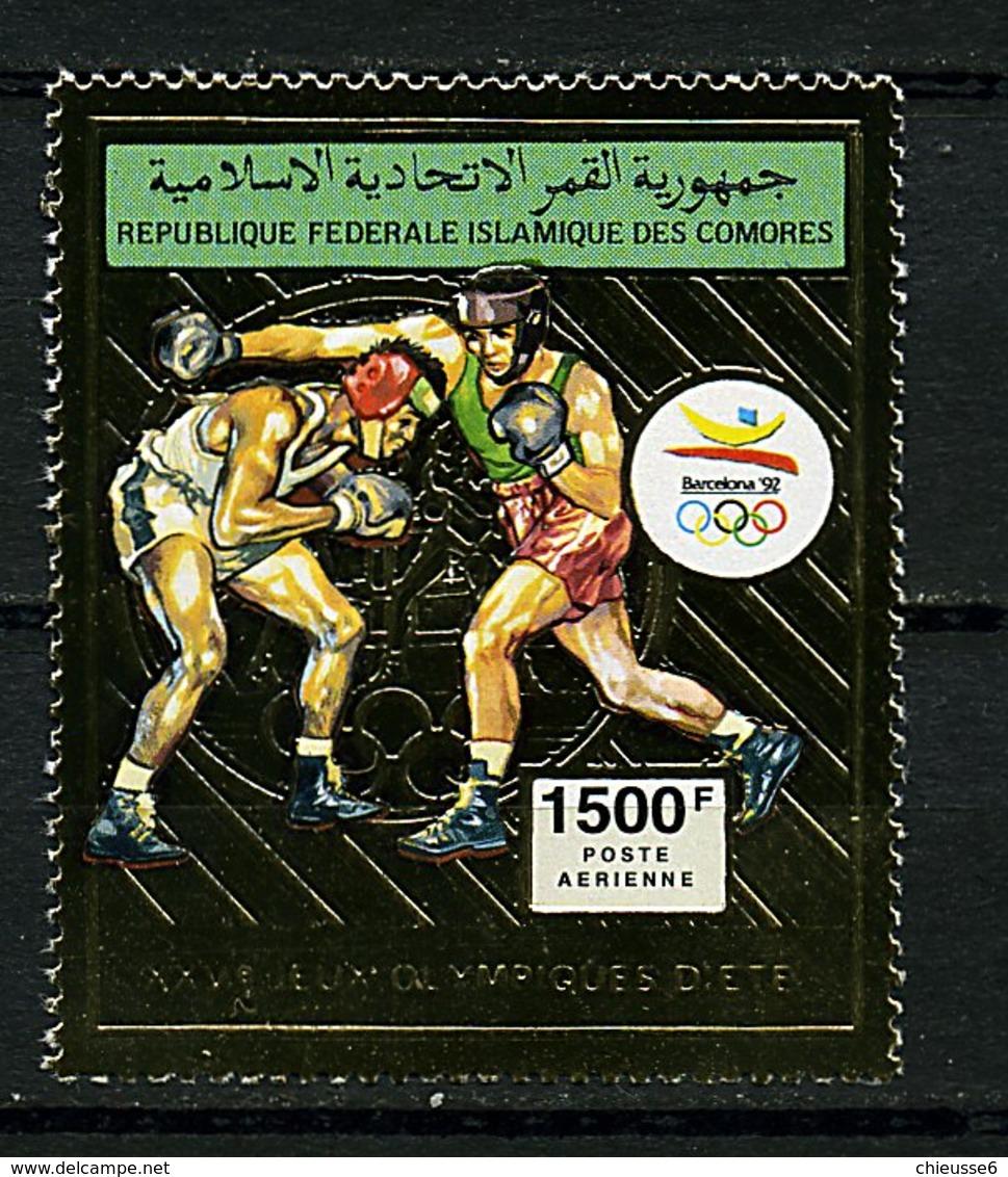 Rep. Des Comores ** PA N° 310 Or - J.O. De Barcelone (boxe) - Comoros