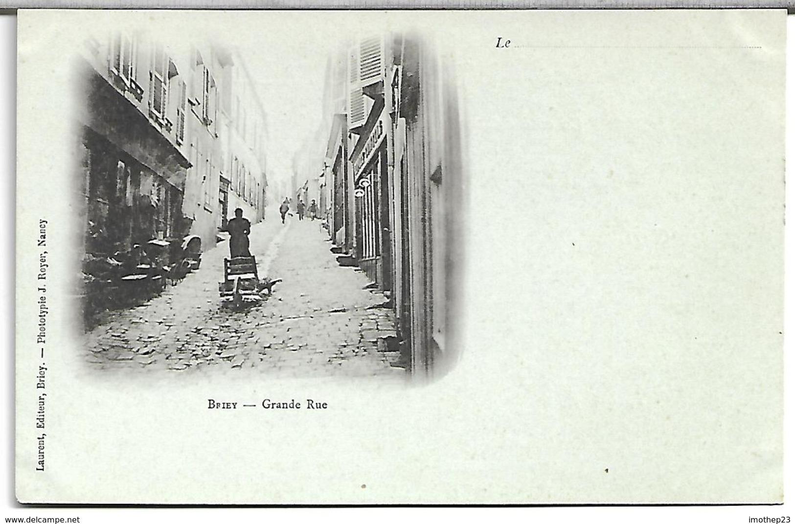 Briey:Grande Rue - Briey
