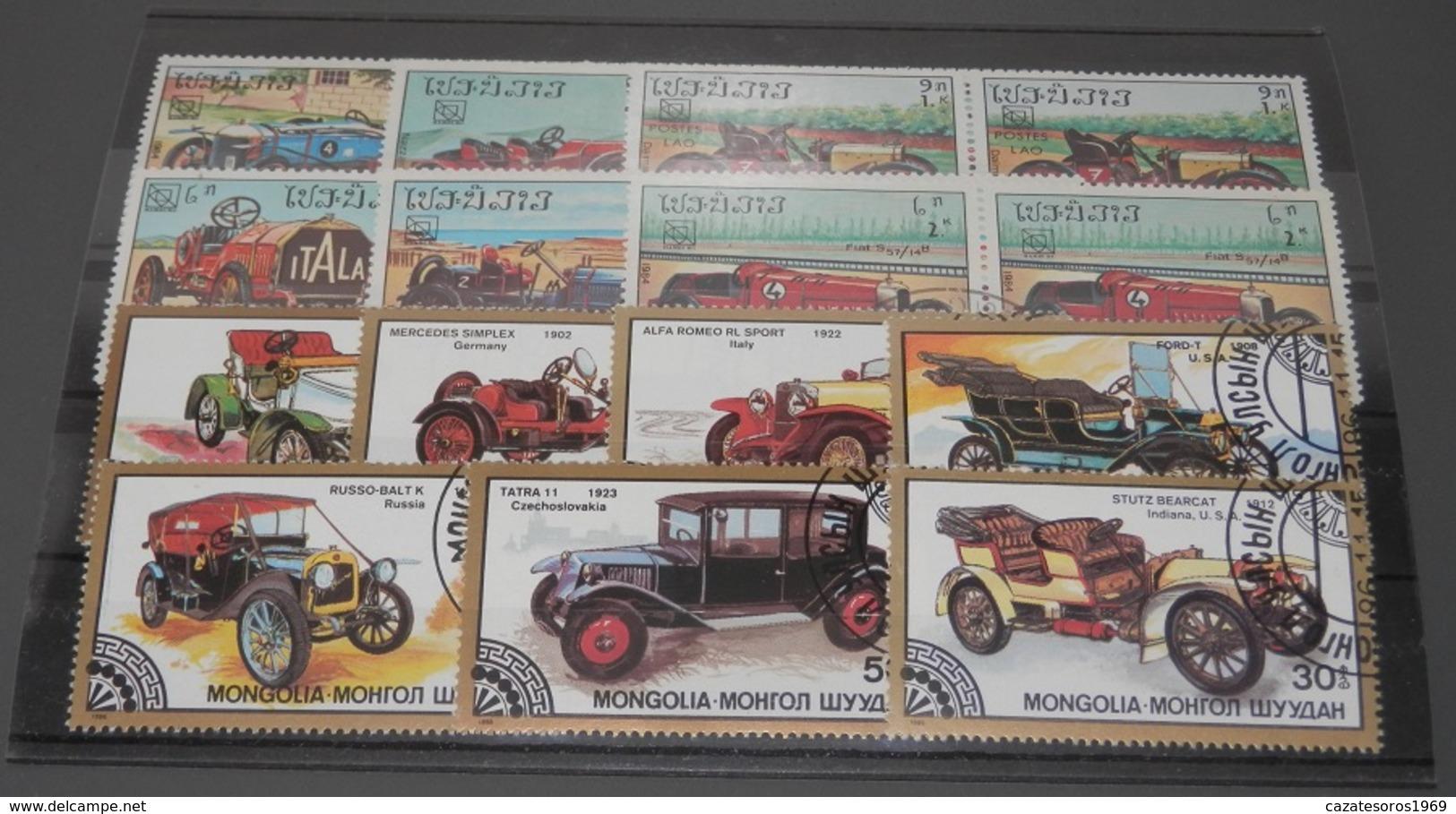 LOT DE TIMBRES - Stamps