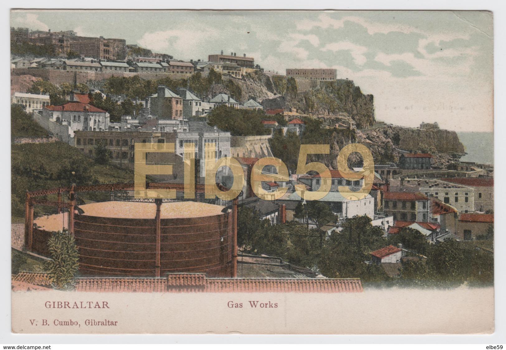 Gibraltar, Gas Works, Unused - Gibilterra