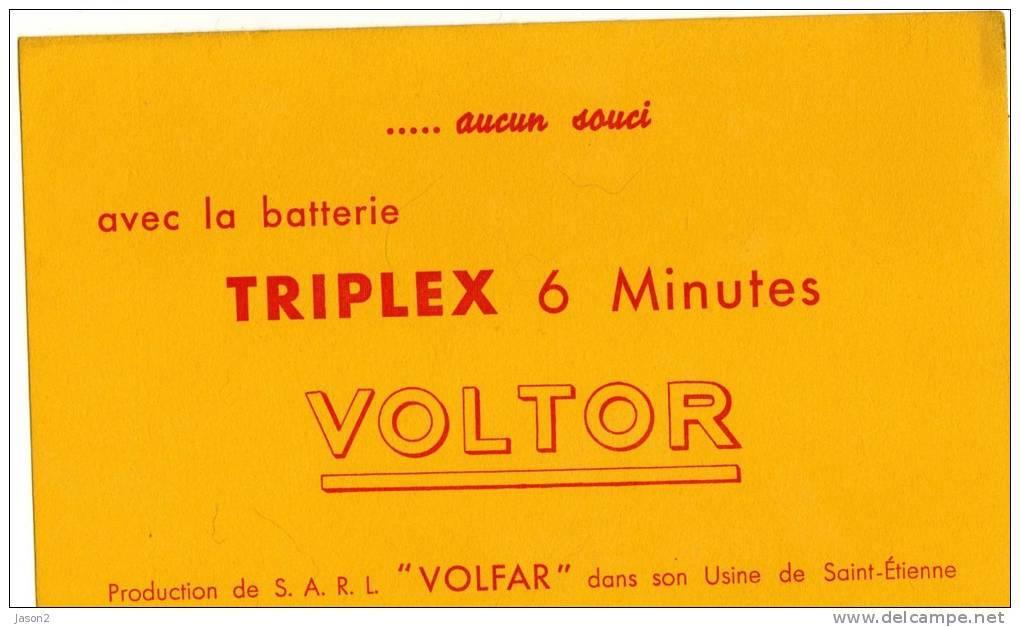 BUVARD Avec La Batterie Triplex Aucun Souci - Buvards, Protège-cahiers Illustrés