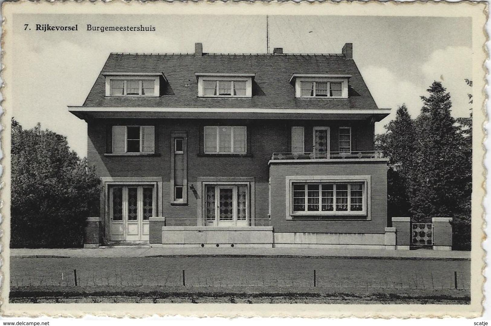Rijkevorsel    Burgesmeestershuis - Rijkevorsel