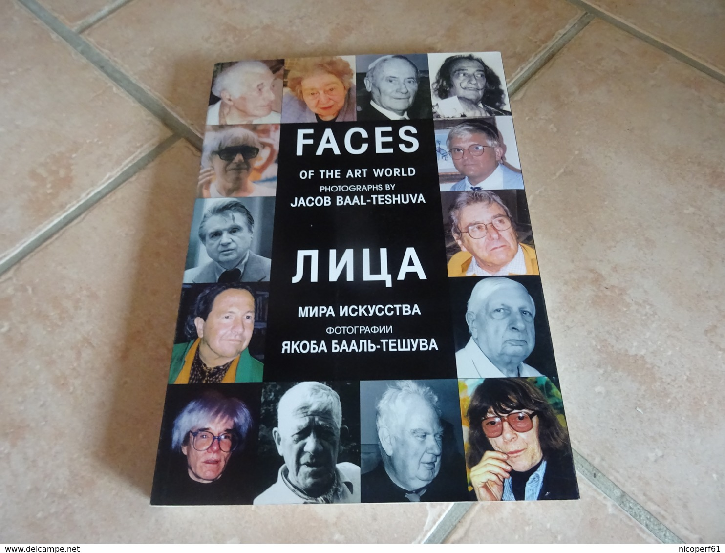 Faces Of The Art World - Photographs By Jacob Baal-Teshuva - Photographie