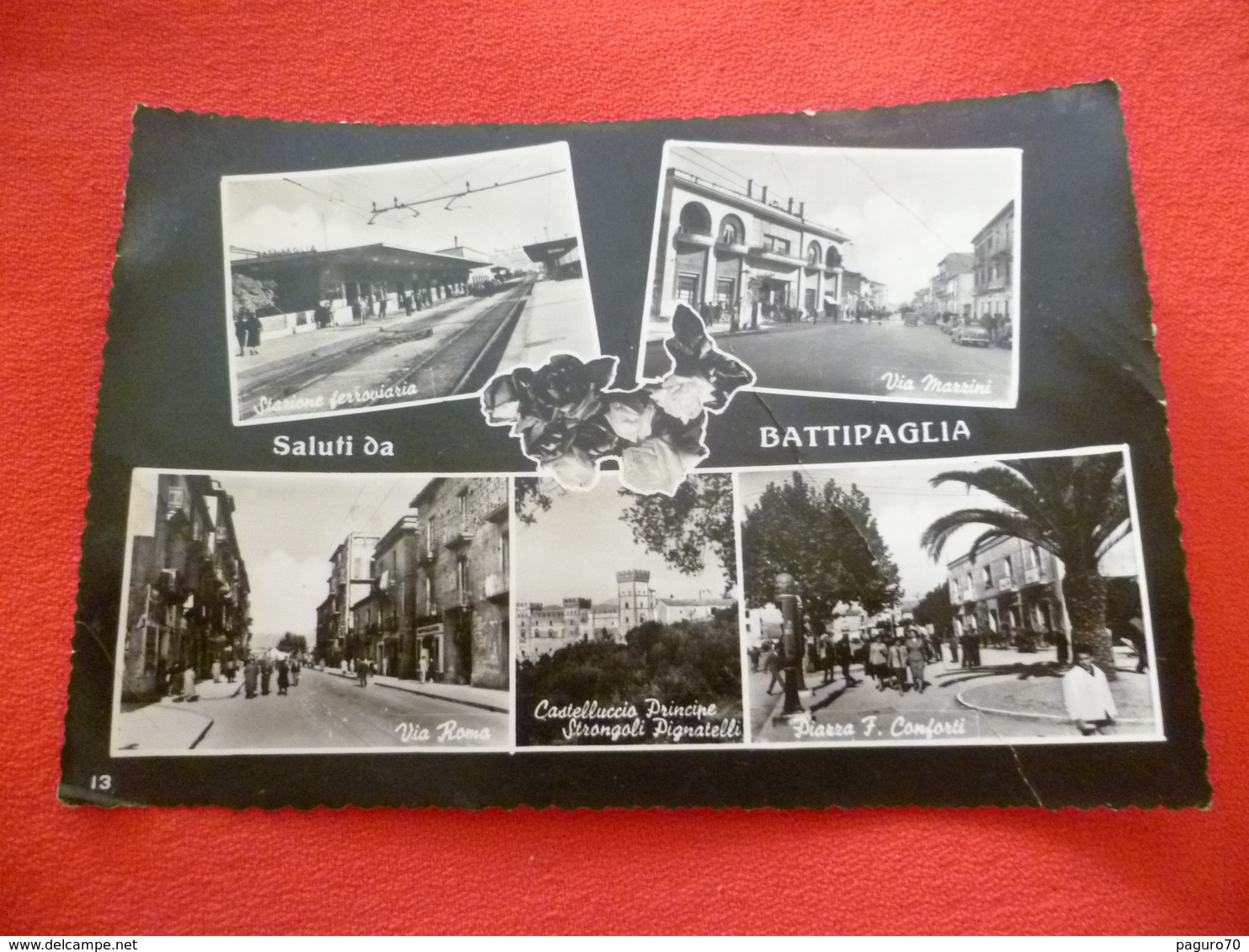 Saluti Da Battipaglia Salerno Campania - Battipaglia