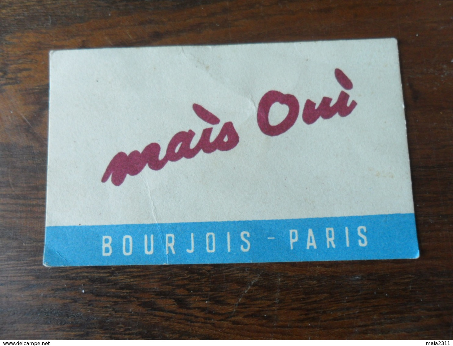 ANCIENNE C PARF. /  MAIS OUI / BOURJOIS - Perfume Cards