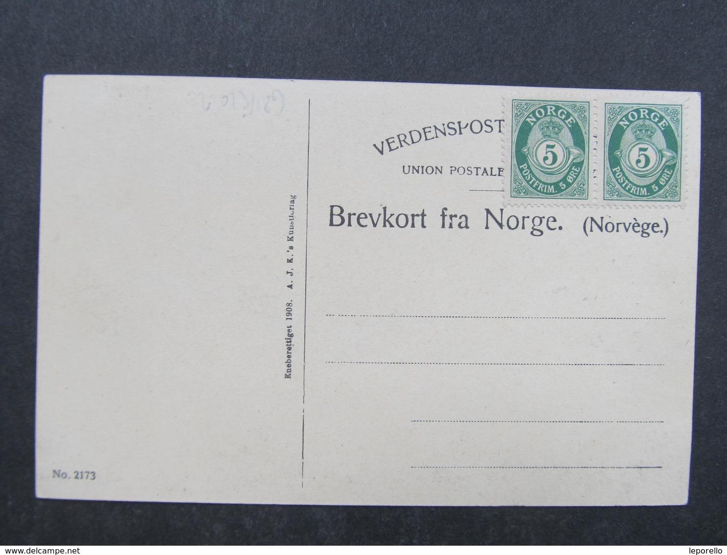 AK EIDE HARDANGER C. 1910 //  D*33942 - Norwegen