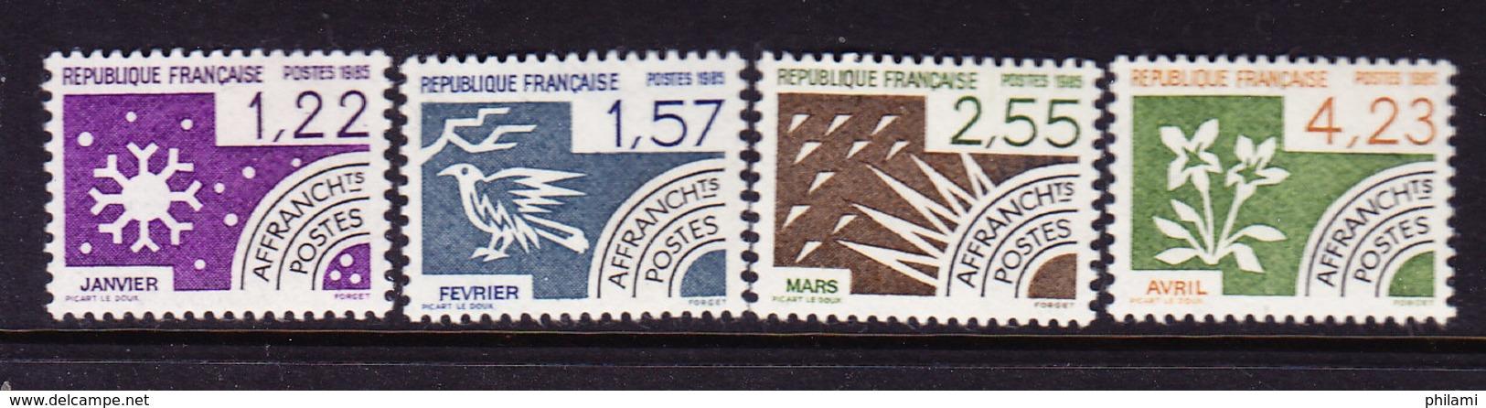 FRANCE YT PREO 186/9 ** MNH,  (STRF431) - Vorausentwertungen