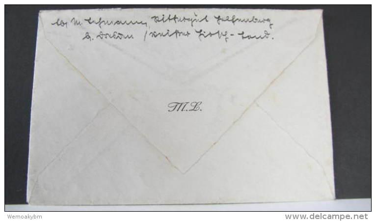 DR 33-45: Brief Mit Poststellenstempel Rockau-Rittergut über Dresden Bad Weißer Hirsch Vom 14.1.42 Knr: 785 (2) - Briefe U. Dokumente