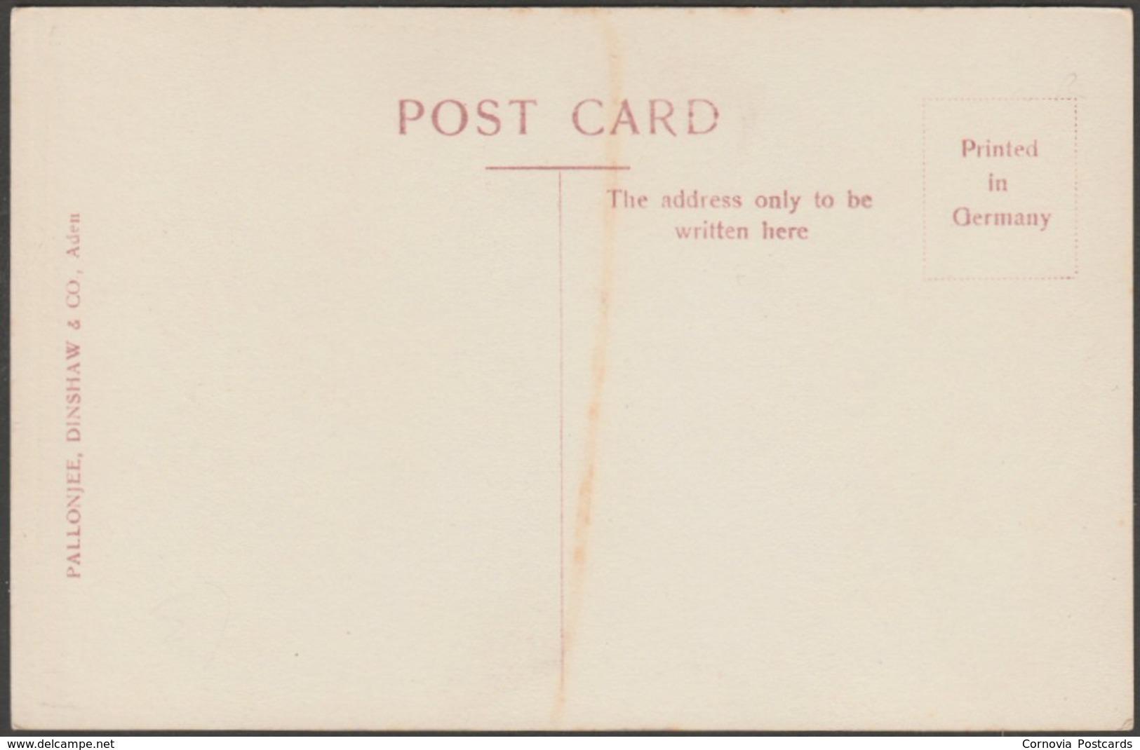 Britannia Anonymous Society Cigarette Factory, Aden, 1911 - Pallonjee, Dinshaw & Co RP Postcard - Yemen
