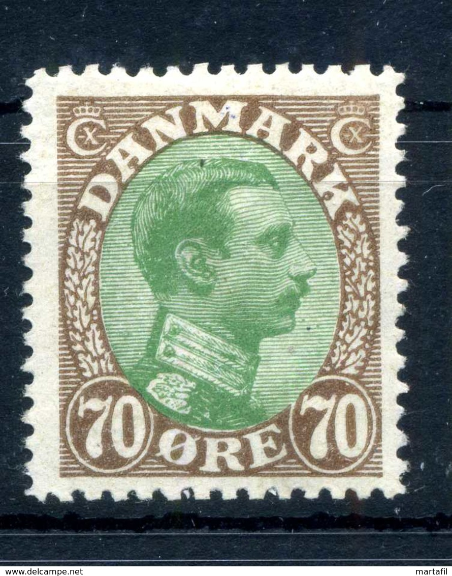 1918-20 DANIMARCA N.114 * - 1913-47 (Christian X)