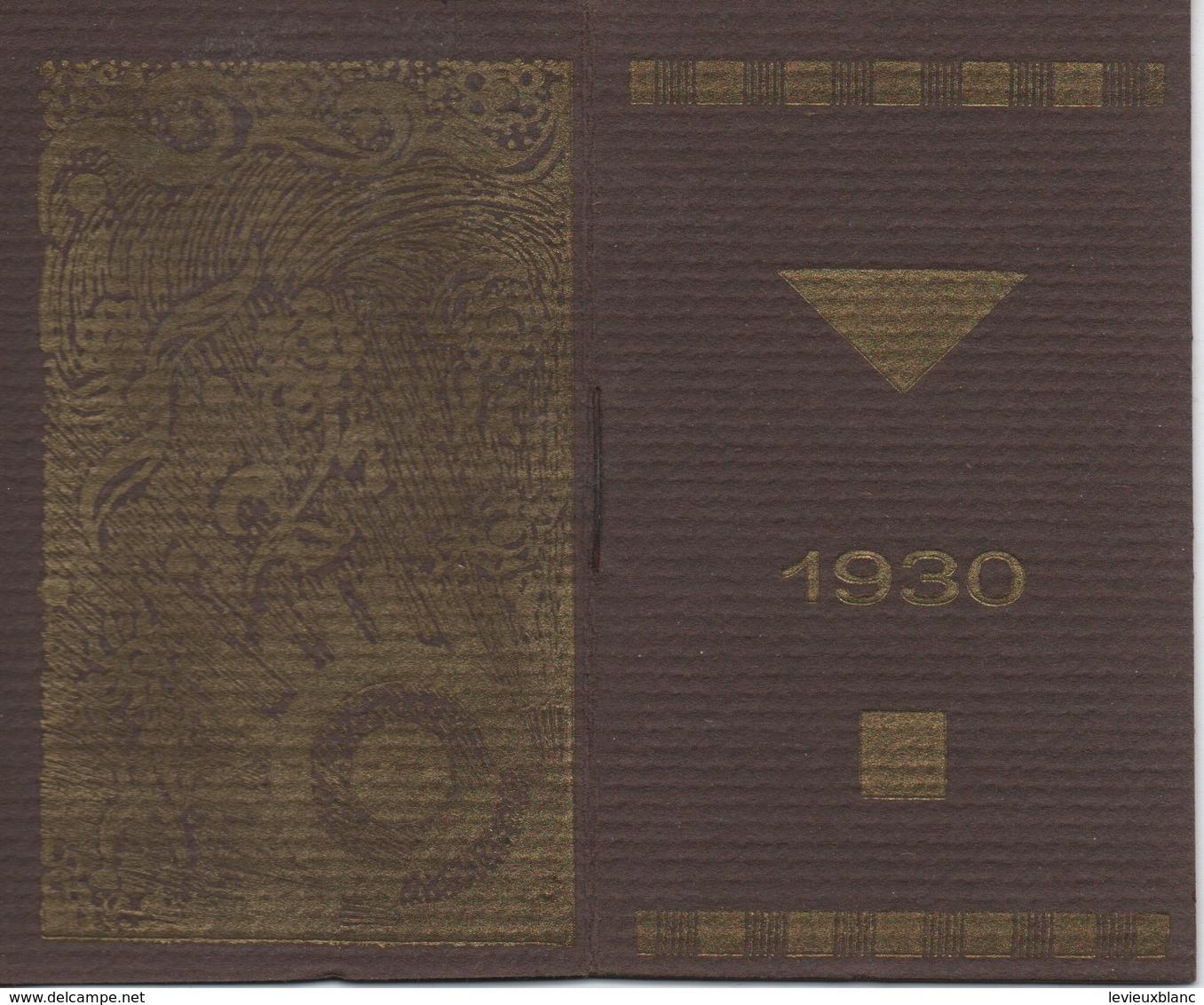 Pharmacie/Petit Calendrier De Poche/Laboratoire Des Spécialités MUTHELET/Paris /   1930              CAL400 - Kalenders