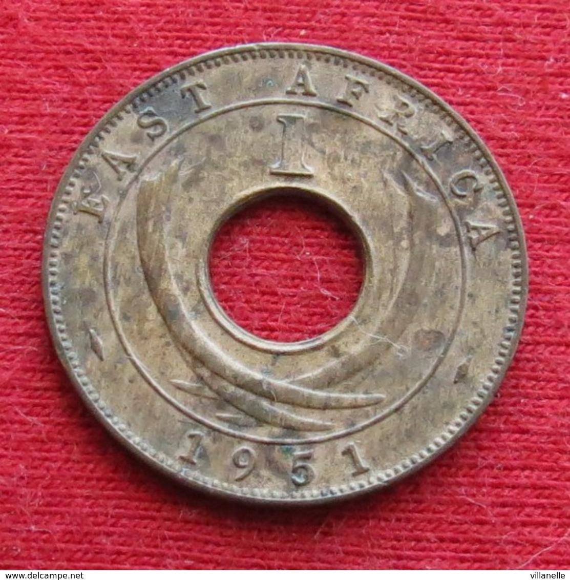 East Africa 1 Cent 1951 H  Africa Oriental Afrique Afrika - Monnaies