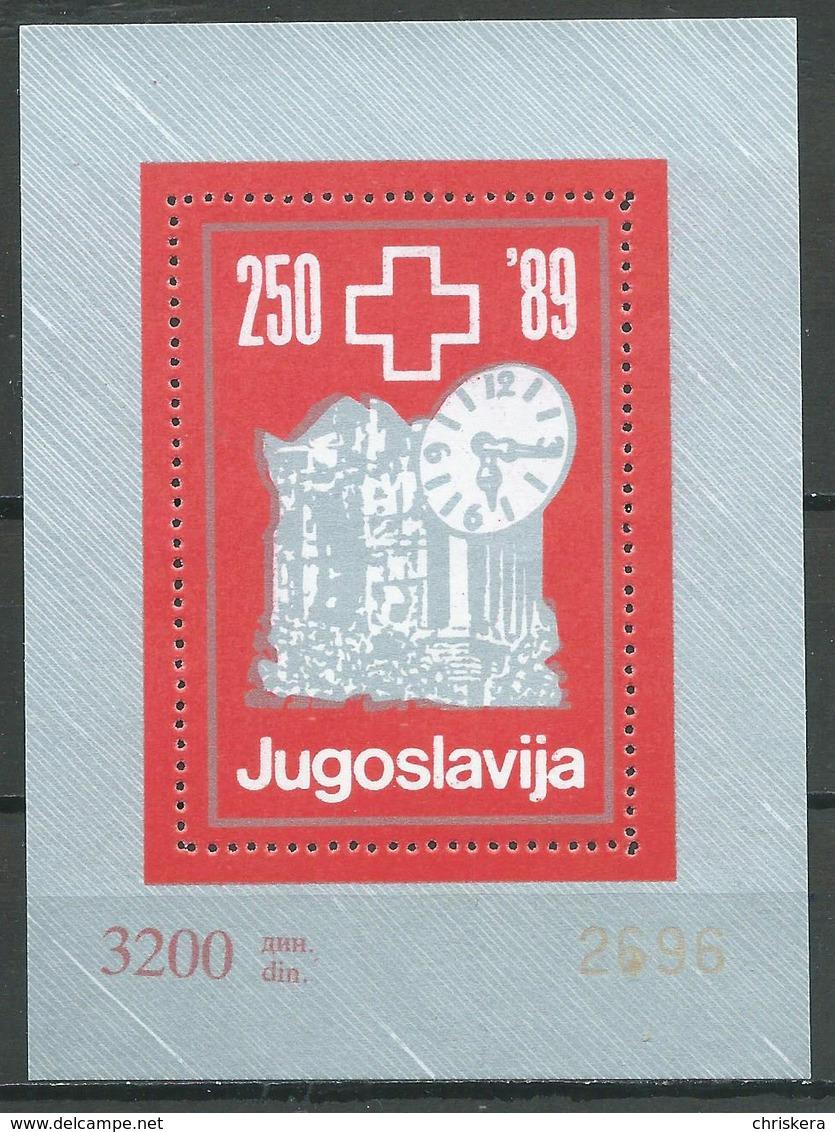 Yougoslavie Bloc-feuillet YT N°?? Semaine De La Solidarité Neuf ** - Blocs-feuillets