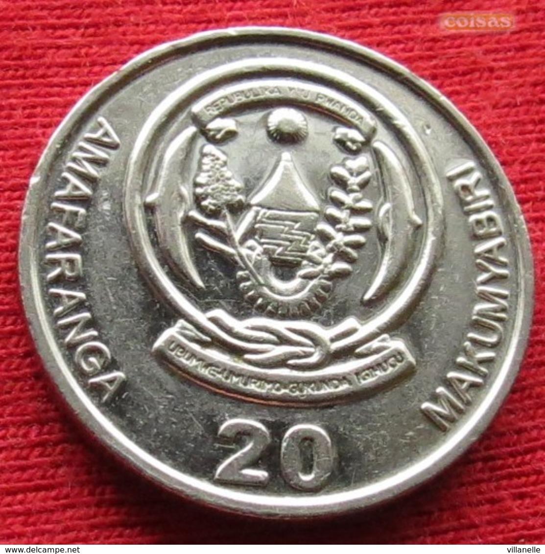 Rwanda 20 Francs 2003 KM# 25  Ruanda - Rwanda