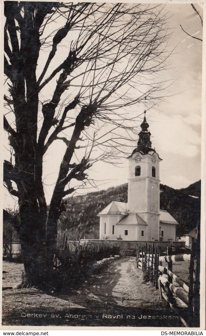 Jezersko - Cerkev Sv Andreja V Ravni - Slowenien