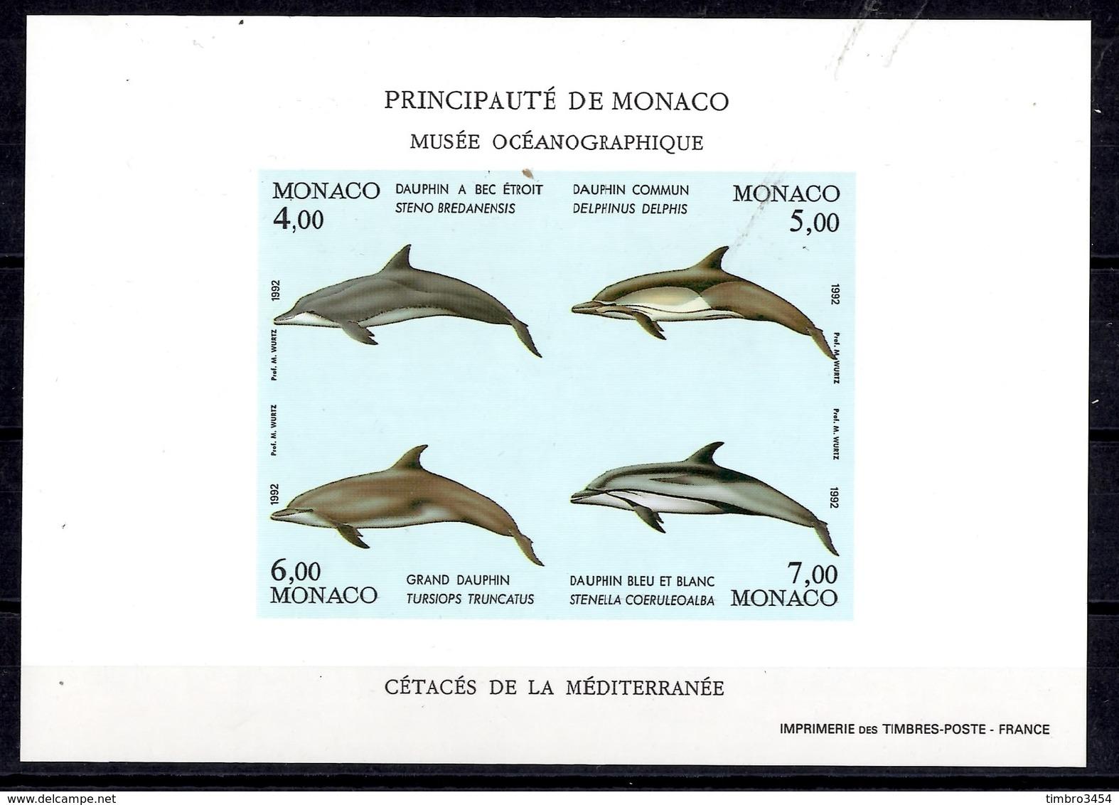 Monaco Bloc-feuillet YT N° 56 Non-dentelé Neuf ** MNH. TB. A Saisir! - Blocs