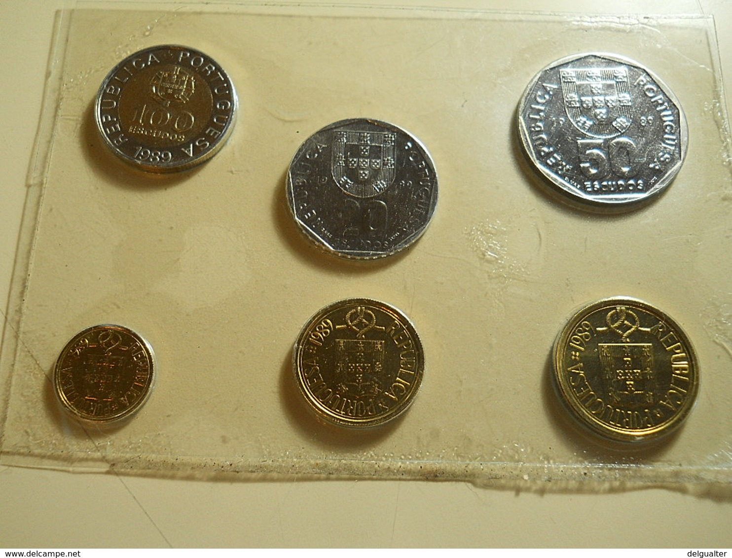 Portugal Serie 1989 BU Coins Without Box As Image - Portugal